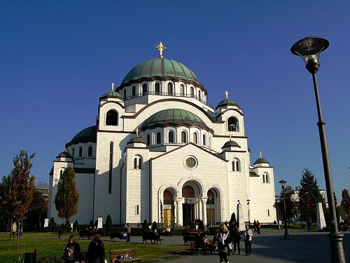 Cathedral of Saint Sava in Serbia