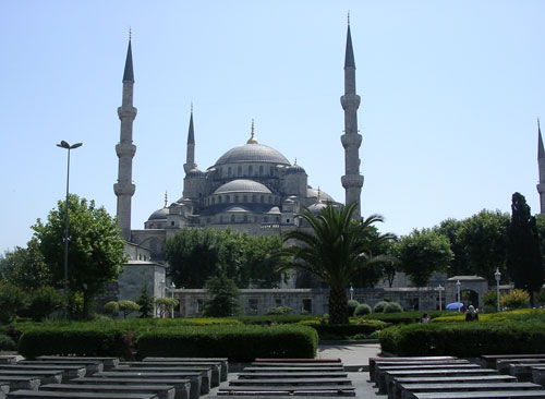 Blue Mosque in Stanbul
