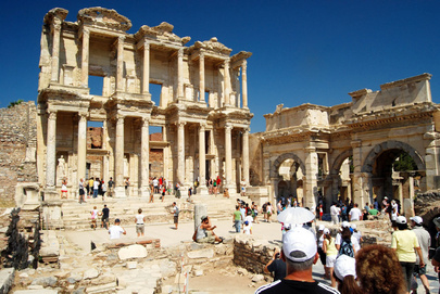 Library of Celsus in Turkey