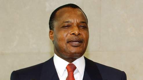 Denis Sassou Nguesso president of Congo-Brazzaville
