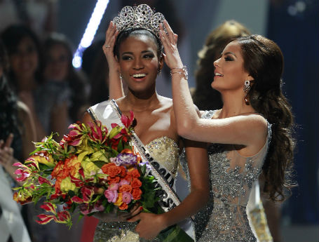 The winner of Miss universe 2011