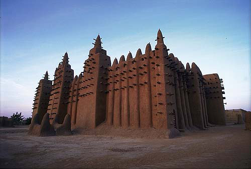Timbuktu city in Mali