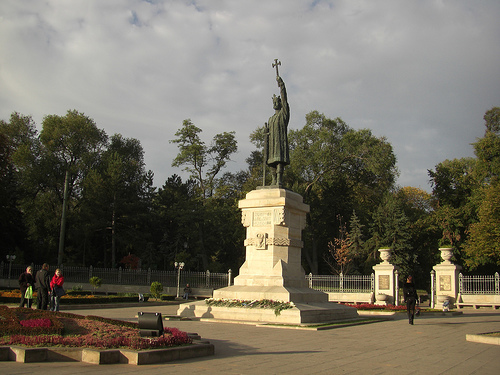 Stephen The Great Monumen in Moldova